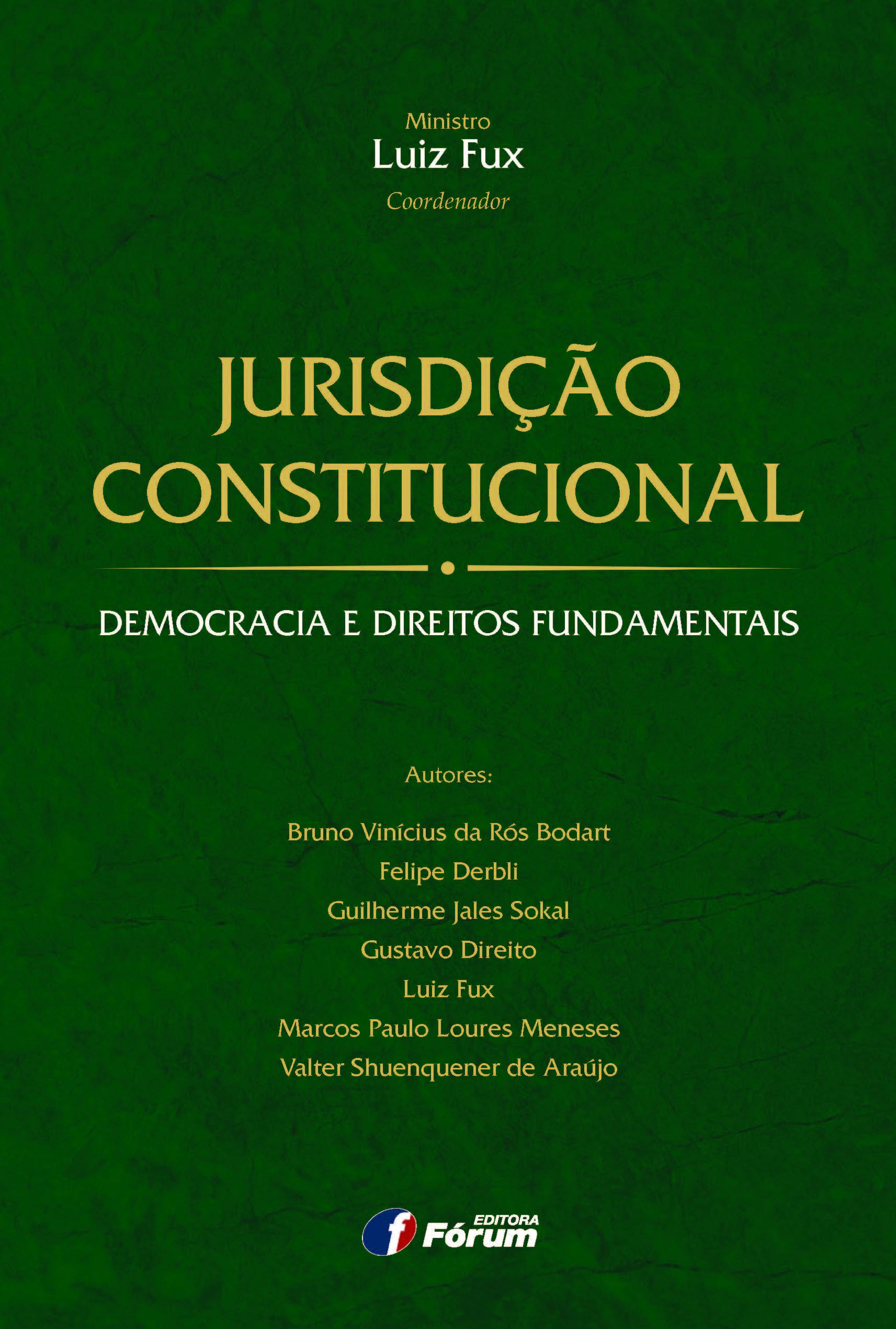 Jurisdição Constitucional Democracia e Direitos Fundamentais