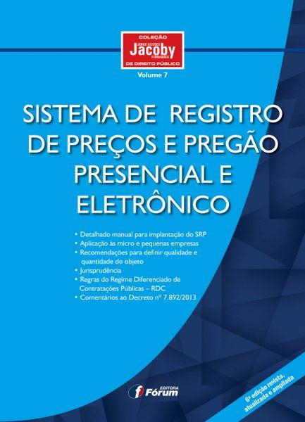 Sistema de Registro de Preços e Pregão Presencial e Eletrônico