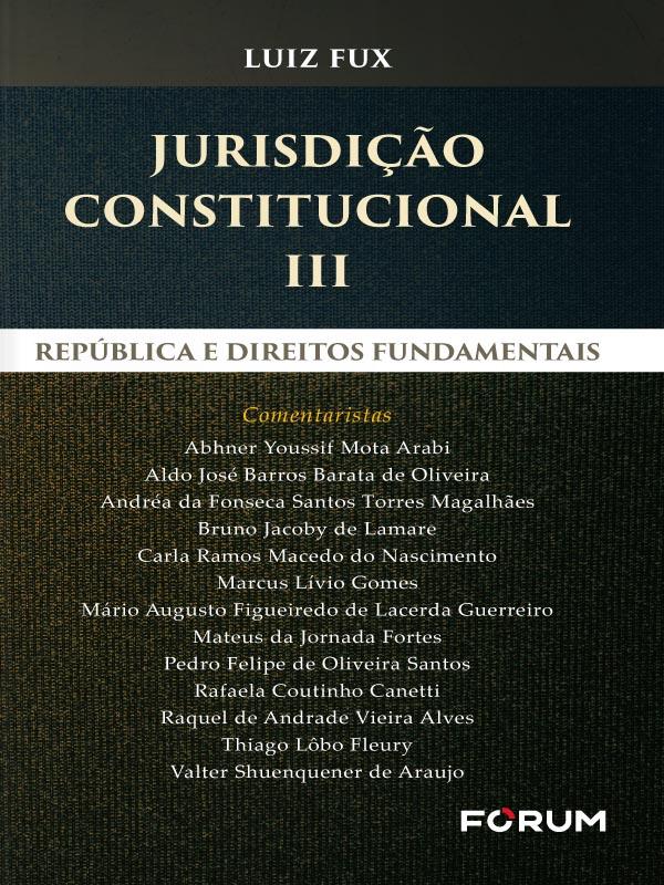 Jurisdição Constitucional Iii